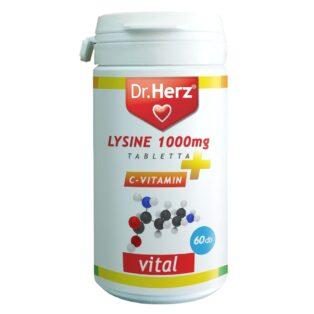 Dr. Herz Lysine - Lizin + C-vitamin tabletta - 120db