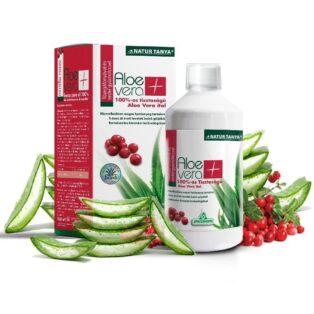 Specchiasol 100%-os Aloe Vera és Vörösáfonya ital - 1000 ml