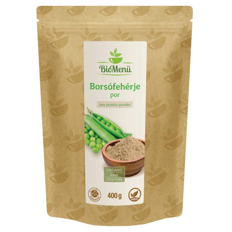 Biomenü Bio Borsófehérje 80% por - 400gBiomenü Bio Borsófehérje 80% por - 400g