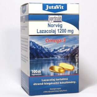 JutaVit Norvég Lazacolaj kapszula - 100db