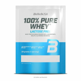 BioTech USA 100% Pure Whey bourbon vanília - 28g