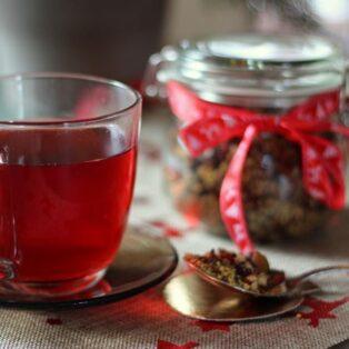 Gyógynövény tea filteres