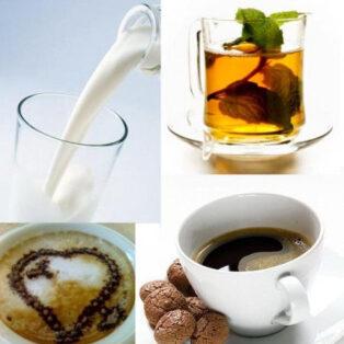 Kávé, kakaó, tea