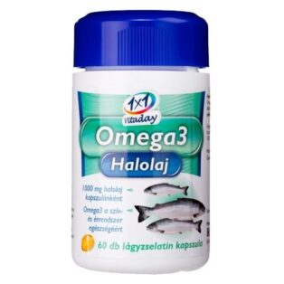 1x1 Vitamin Omega-3 halolaj kapszula - 60db