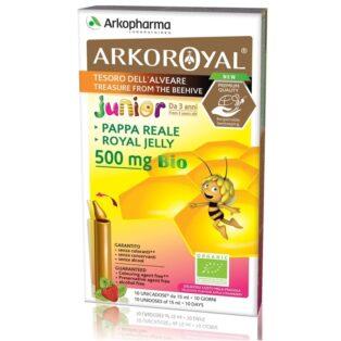 Arkoroyal Bio Junior Royal Jelly 500mg ampulla - 10x15ml