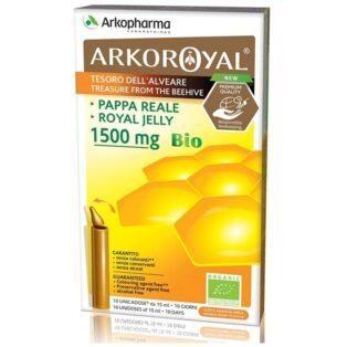 Arkoroyal Bio Royal Jelly 1500mg ampulla - 10x15ml