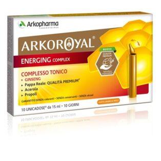 Arkoroyal Bio Royal Jelly Energia komplex ampulla - 10x15ml