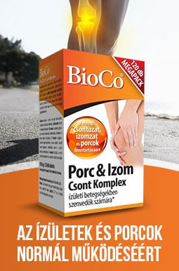 BioCo Porc & Izom Csont Komplex ízületi betegségekben vagy porckopásban szenvedők részére