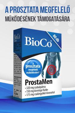 BioCo ProstaMen a prosztata megfelelő működésének támogatására