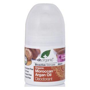 Dr. Organic bio argán olaj golyós dezodor - 50 ml
