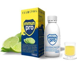 ImmunPro Liposzómás Immunerősítő Emulzió citrom-lime ízesítésben - 150ml