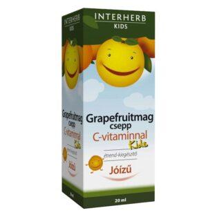 Interherb Grapefruitmag csepp KIDS C-vitaminnal - 20ml