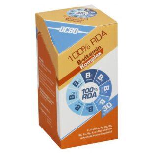 OCSO B- vitamin komplex tabletta - 30 db