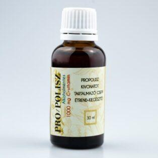 PRO/POLISZ Propolisz tinktúra alkoholmentes 1000mg C-vitaminnal - 30ml