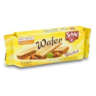 Schr gluténmentes mogyorós ostya - 50g