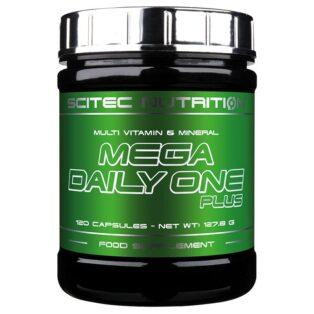 Scitec Nutrition Mega Daily One Plus multivitamin kapszula - 120 db