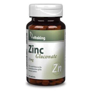 Vitaking Cink 30mg tabletta - 90db