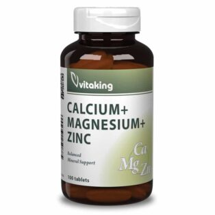 Vitaking CalMag + Cink tabletta - 100db