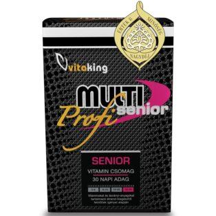 Vitaking Multi Senior Profi multivitamin csomag - 30db