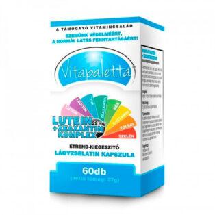 Vitapaletta Lutein + Zeaxantin Komplex lágyzselatin kapszula - 60db