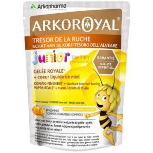 Arkoroyal Bio méhpempőt és mézet tartalmazó gumicukor - 20db