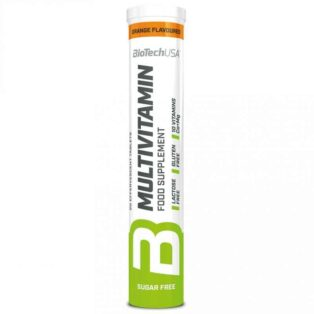 BioTech USA Multivitamin narancs pezsgőtabletta - 20db