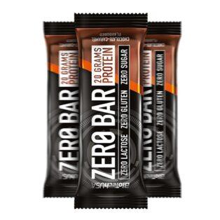 BioTech USA Zero Bar protein szelet csokoládé - karamell - 50g