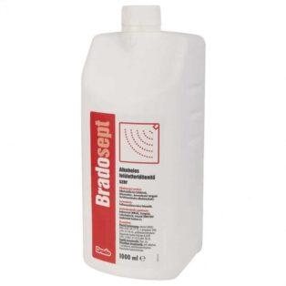 Bradosept alkoholos felületfertőtlenítő szer - 1000ml
