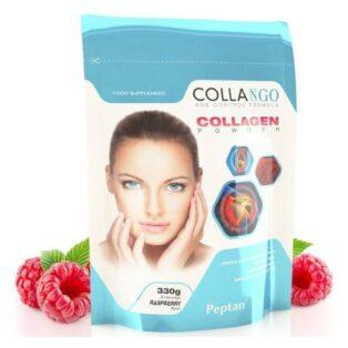Collango Collagen - kollagén por málna - 330g