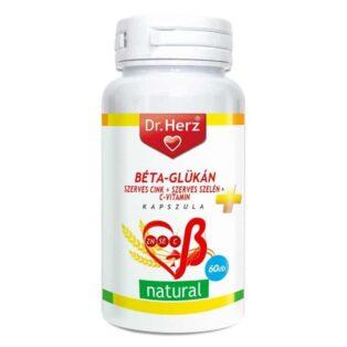 Dr. Herz Béta-Glükán+Szerves cink