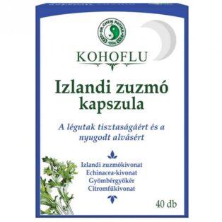 Dr. Chen Kohoflu izlandi zuzmó kapszula - 40db