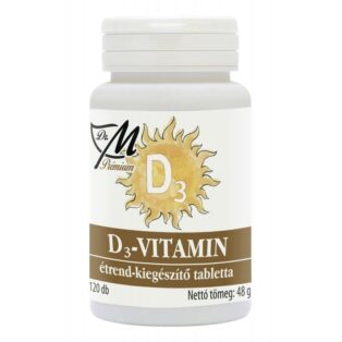 Dr. M Prémium D3-vitamin tabletta - 120db
