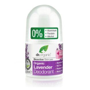 Dr. Organic bio levendula golyós dezodor - 50ml