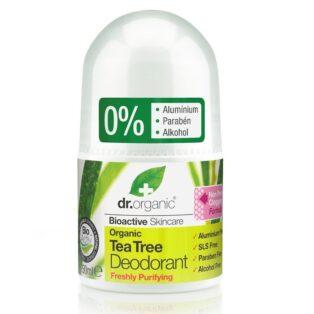 Dr. Organic bio teafa golyós dezodor - 50ml