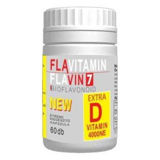 Flavin7 Flavitamin D-vitamin kapszula - 60db