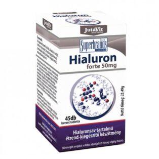 Jutavit Hialuron Forte 50mg tabletta - 45db