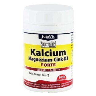 Jutavit Kalcium-Magnézium-Cink-D3-vitamin tabletta - 90db