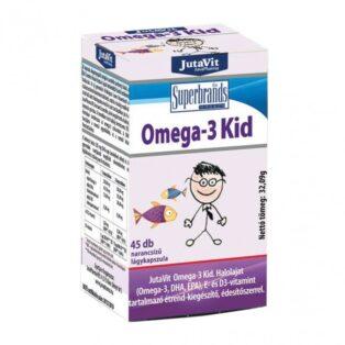 Jutavit Omega-3 Kid lágykapszula - 45db