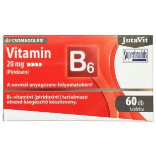 JutaVit B6-vitamin tabletta - 60db