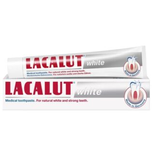 Lacalut White fehérítő fogkrém - 75ml