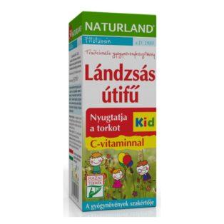 Naturland Lándzsás útifű szirup gyerekeknek - 150ml