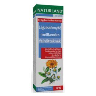 Naturland légzéskönnyítő mellkenőcs felnőtteknek - 70 g