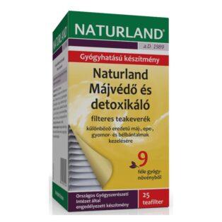 Naturland májvédő tea - 25 filter/doboz