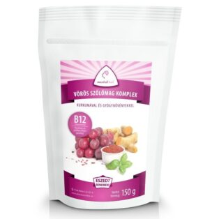 Mentalfitol Vörös szőlőmag őrlemény B12-vitaminnal - 150g