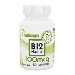 Netamin B12-vitamin tabletta - 40db