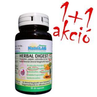 Nutrilab Herbal Digest kapszula 1+1 akció - 2x30db