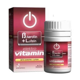 Vita Crystal E-lit Vitamin - Béta-Karotin + Lutein kapszula - 60db