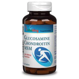 Vitaking Glükozamin + Kondroitin + MSM tabletta - 60db