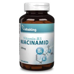 Vitaking Niacinamid 500mg tabletta - 100db