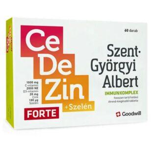 Goodwill Szent-Györgyi Albert CeDeZin Forte+Szelén Immunkomplex tabletta - 60db